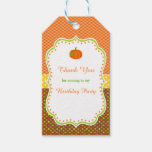 Autumn Fall Pumpkin Gift Tag