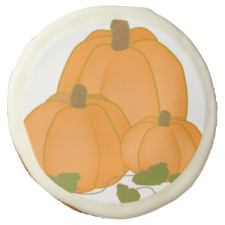 Autumn Fall Pumpkin Party Desserts Sweets Cookies Sugar Cookie
