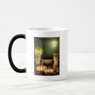 Autumn Fall Pumpkins Moon Night Destiny Coffee Mug