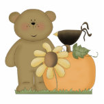 autumn fall teddy bear cutie photo cut out
