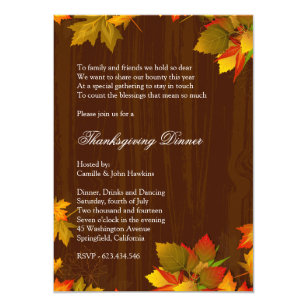 156690a9a Family Reunion Thanksgiving Invitations - Invite Your Guests Today ...