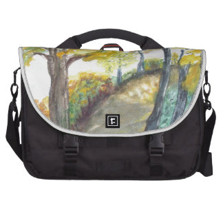 Autumn Fall Tree Leaves Art Painting Destiny Bags For Laptop