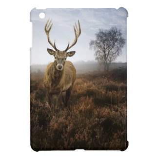 Autumn Fall with beautiful red deer stag iPad Mini Covers