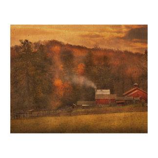 Autumn - Farm - Morristown, NJ - Charming farming Cork Paper Print