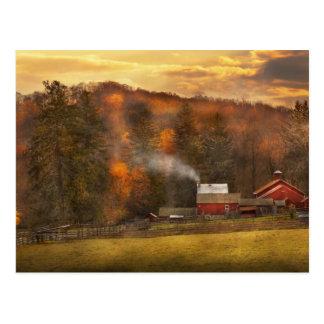 Autumn - Farm - Morristown, NJ - Charming farming Postcard