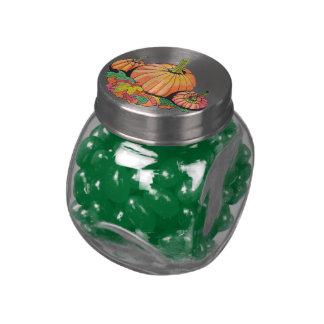 Autumn Favorite...Candy Jar... Glass Jars