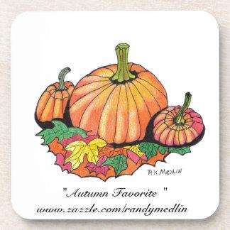 Autumn Favorite Cork Coaster