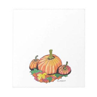 Autumn Favorite...Notepad... Notepad