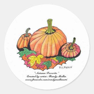 """"""" Autumn Favorite """" Sticker"""