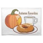 Autumn Favourites Placemats