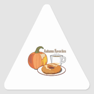 Autumn Favourites Sticker