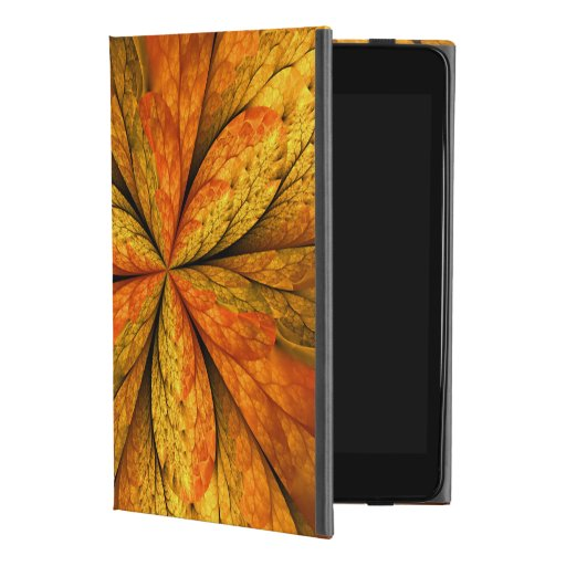 Autumn Feeling, Modern Abstract Fractal Flower iPad Mini 4 Case