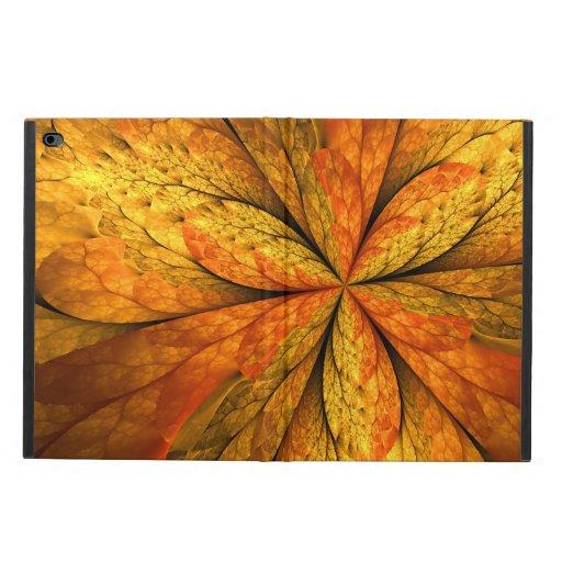 Autumn Feeling, Modern Abstract Fractal Flower Powis iPad Air 2 Case