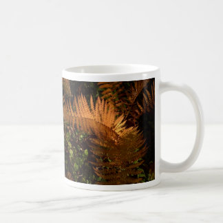 Autumn fern mugs