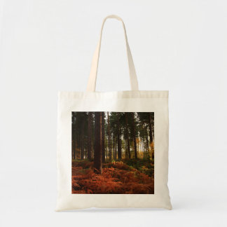 Autumn Ferns Budget Tote Bag
