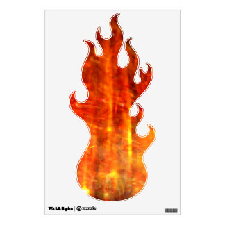 autumn fire abstract art room graphics