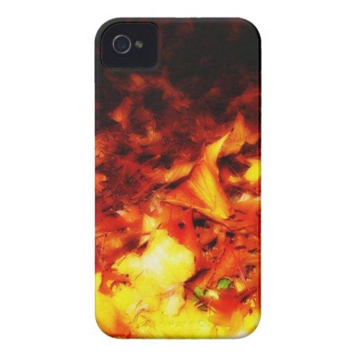 Autumn Fire iPhone 4 Case-Mate Case