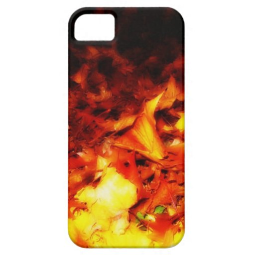 Autumn Fire iPhone 5 Cover