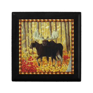 Autumn Fire Jewelry Box