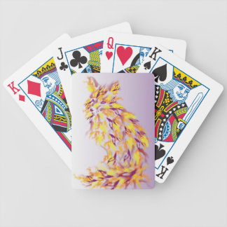 Autumn Fire Bicycle Card Deck