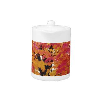 Autumn Fire Teapot