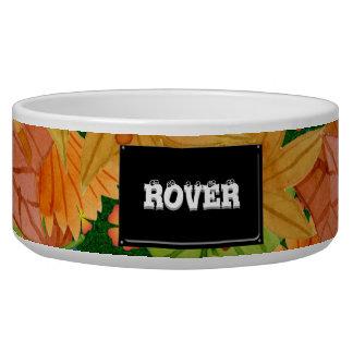 Autumn floor bowl