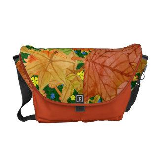 Autumn floor courier bag