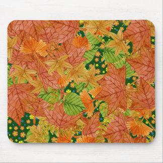 Autumn floor mouse pad