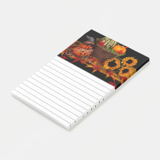 Autumn Floral Decor Post-it Notes