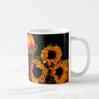 Autumn Floral Decoration Coffee Mug