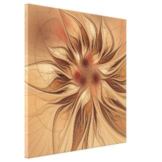 Autumn Flower Canvas Print