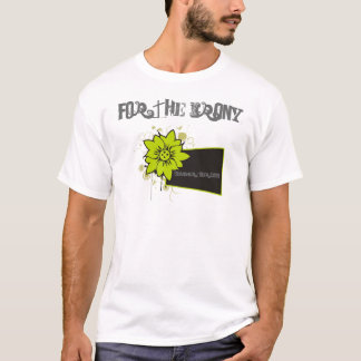 autumn_flower, For The Irony, Summer Tour 2009 T-Shirt