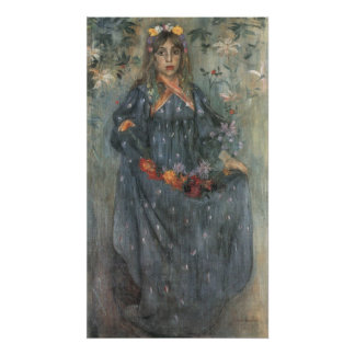 Autumn Flowers 2 by Lovis Corinth Poster