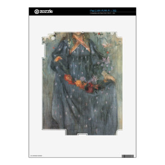Autumn Flowers 2 by Lovis Corinth iPad 2 Decal