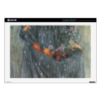 "Autumn Flowers 2 by Lovis Corinth Skins For 17"" Laptops"