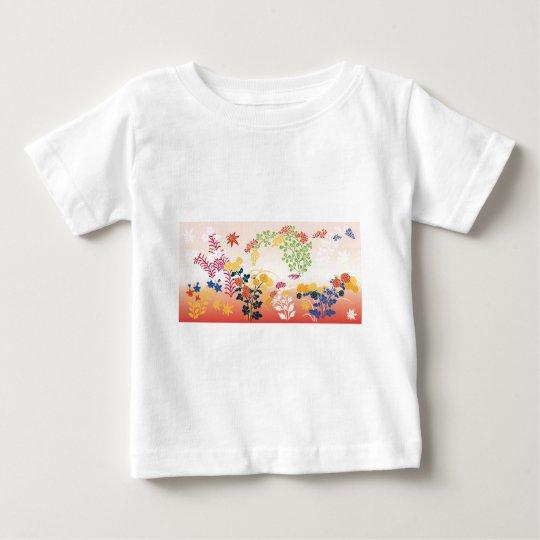 Autumn flowers baby T-Shirt