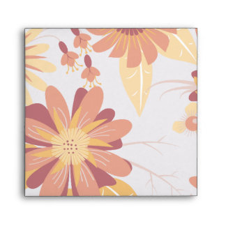 Autumn Flowers Envelope
