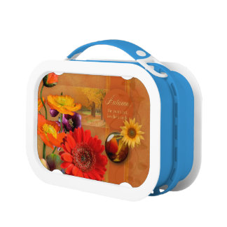 Autumn Flowers Lunchboxes