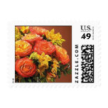 Autumn Flowers Postage Stamp