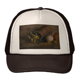 Autumn Flowers Trucker Hat