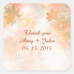 Autumn fog wedding sticker tags autm3