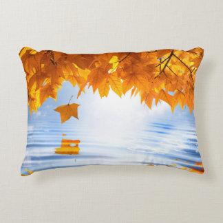 Autumn Foliage Accent Pillow