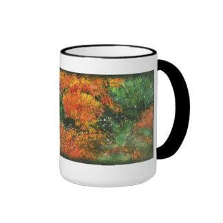 Autumn Foliage Ringer Mug