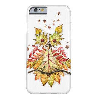 Autumn foliage Owl watercolor painting Barely There iPhone 6 Case