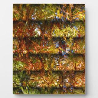 Autumn Foliage Plaque