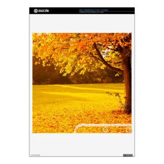 Autumn foliage skin for PS3 slim
