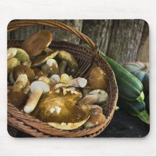 Autumn food still life mousepad