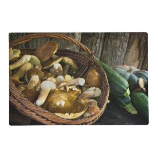 Autumn food still life placemat