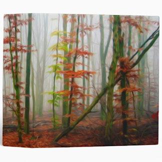 Autumn forest binder
