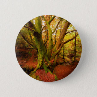 Autumn Forest Button
